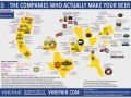 MAP: THE COMPANIES WHO ACTUALLY MAKE YOUR BEER