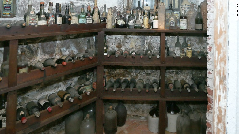 Demolition of Prohibition-era wall reveals centuries-old wine collection