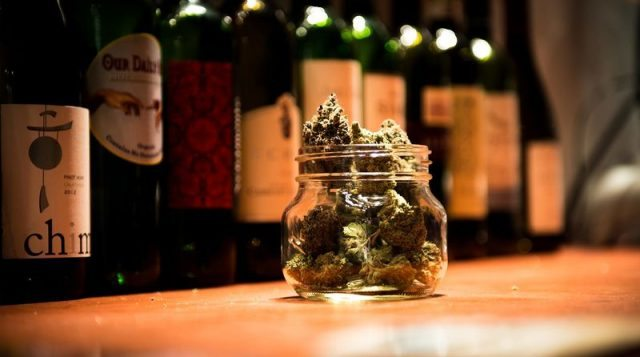 Weed 'a companion piece' to wine