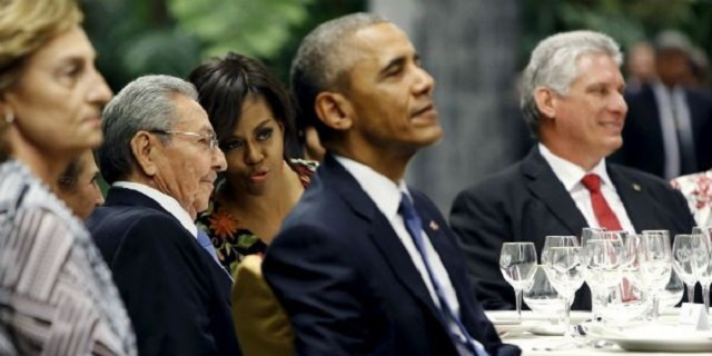 TORRES SERVED TO OBAMA IN CUBA
