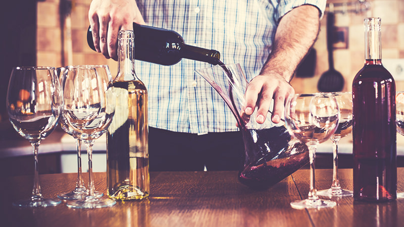 UNDERSTANDING THE RITUAL OF DECANTING