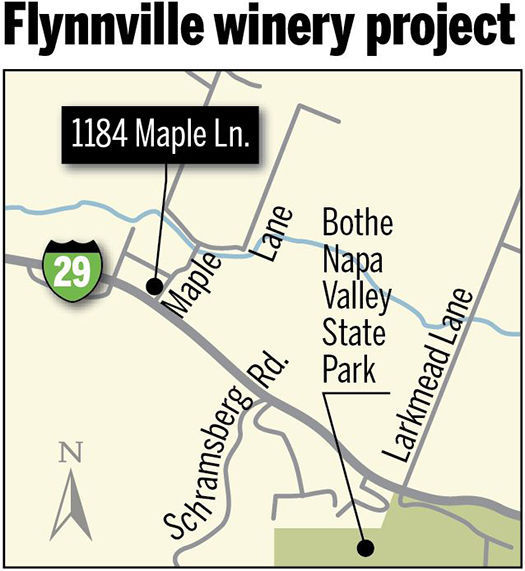 Worried about size, Napa County delays proposed Calistoga winery